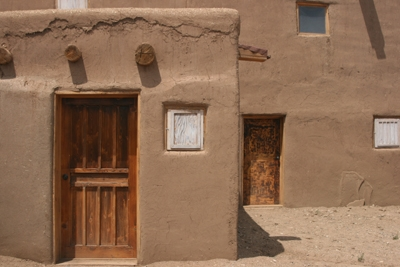 Adobe House, Taos Pueblo, 2012