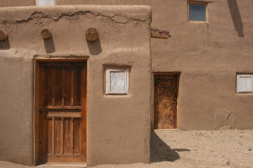 Adobe House, Taos Pueblo, 2012