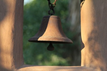 Contrasts of Sights and Sounds in Taos: Metallic Bell