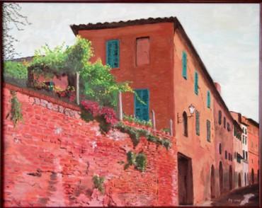 Siena Street Scene